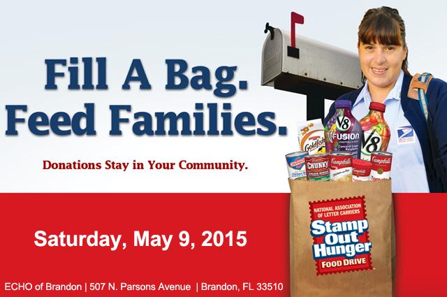 Postal Food Drive @ ECHO of Brandon | Brandon | Florida | United States