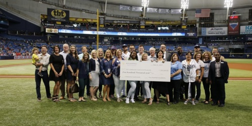 Tampa Bay Rays donation